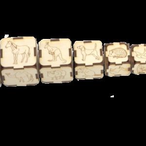 Dzīvnieku kluču piramīda