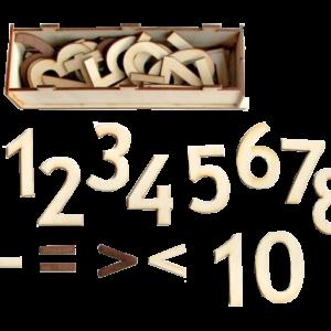 Cipari (1-10) lielie