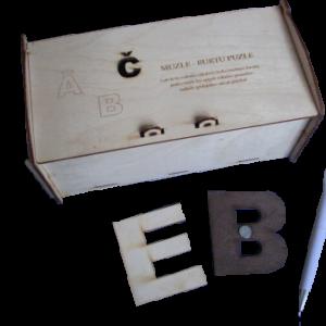 Alfabēts LD (ar magnētiem)