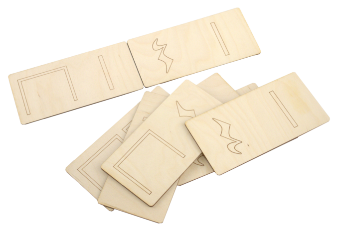 Domino spēle, ar kuras palīdzību var izveidot dažādas mūzikas  pamatritma elementu kombinācijas, izmantojama mūzikas ritma nodarbībās pirmsskolās.