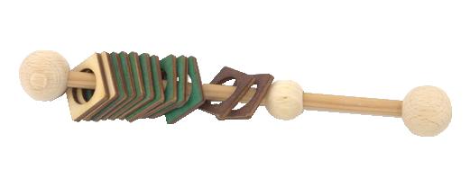 Mūzikas ritma instruments, izmantojams  mūzikas ritma nodarbībās pirmsskolās.