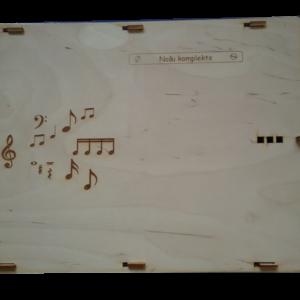 Mūzikas ABC (Lielais solfedžo komplekts)