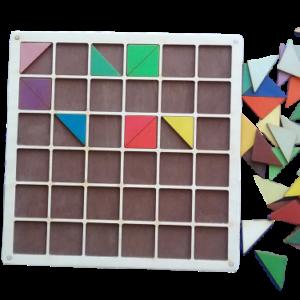 Krāsu skala (trīsstūri)