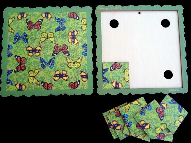 PĻAVA Aizraujoša brīvā laika pavadīšanas spēle atslodzei un relaksācijai.  Piemērota gan lieliem, gan maziem.  Spēles uzdevums: Salikt deviņas spēles kartiņas spēles pamatnē tā, lai visas saliekamās taureņu  pusītes veidotu veselus taureņus. Mozaīku iespējams izmantot kā mājas dekoru - salīmējot kartiņas pie pamatnes un piekarinot pie sienas vai novietojot to kādā citā piemērotā vietā.
